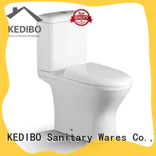 KEDIBO fashionable two piece toilet application for airport