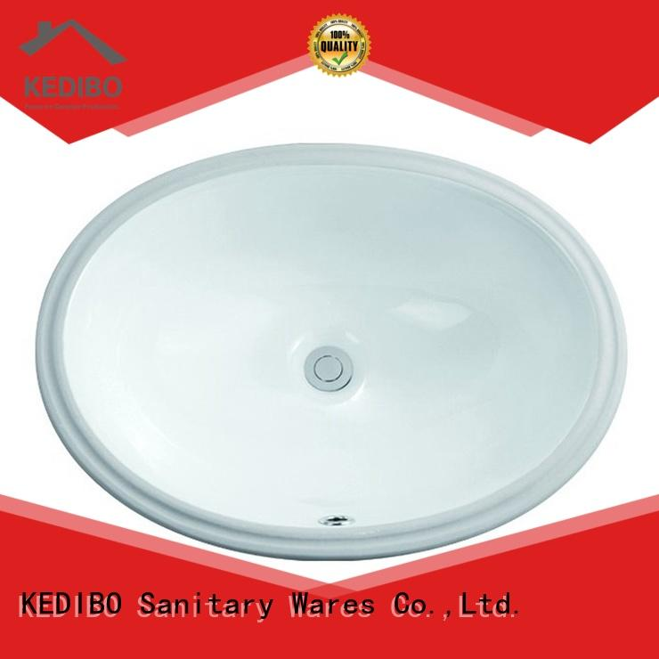 KEDIBO washing oval undermount bathroom sink free quote for hospital