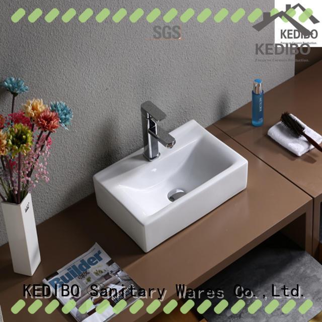 KEDIBO various design white sink OEM ODM for super market