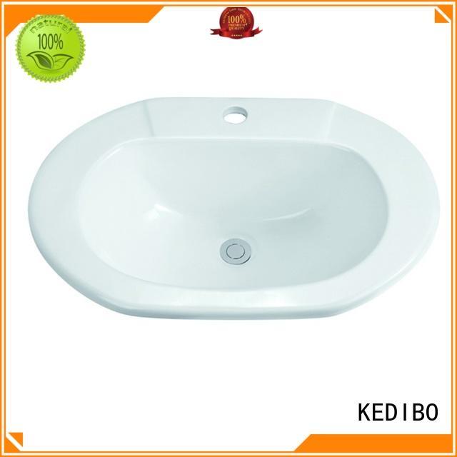 rigorous ceramic bathroom under counter basin subtle KEDIBO Brand