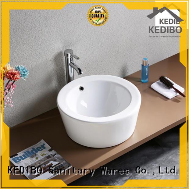 nice ceramic bathroom sink order now for super market KEDIBO