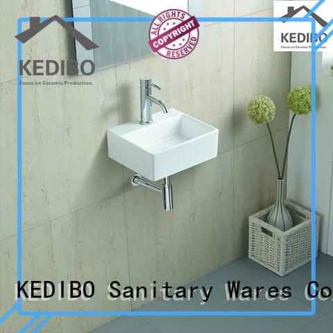 KEDIBO high-quality wall mounted basin dropshipping for bathroom