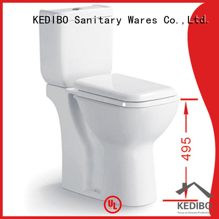 KEDIBO widely used 1 piece toilet wholesale for hotel
