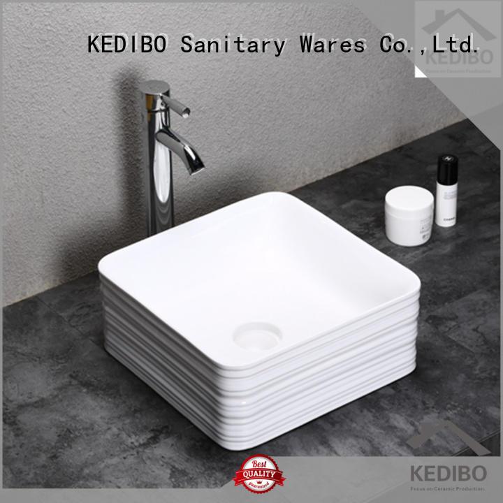 KEDIBO custom wide bathroom sink for shopping mall