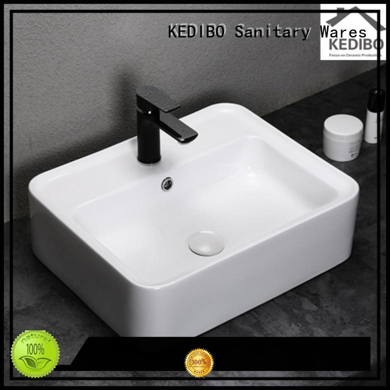 Quality KEDIBO Brand toilet wash basin design hole washing