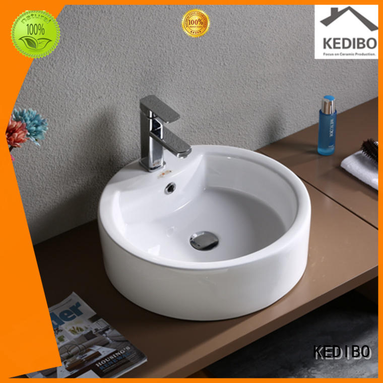 KEDIBO Brand square modern deep custom toilet wash basin design
