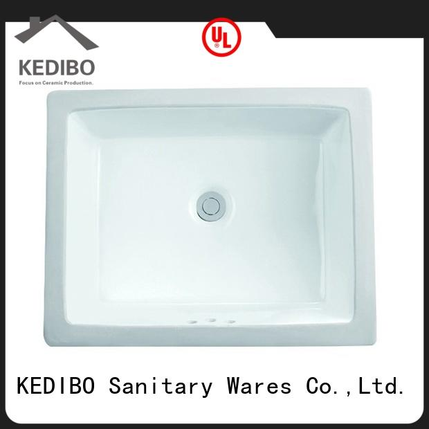 KEDIBO basin under counter basin dropshipping for mobile toilet