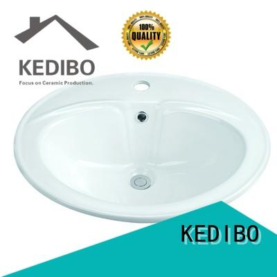 KEDIBO Brand sizes stable subtle square undermount bathroom sink bathroom