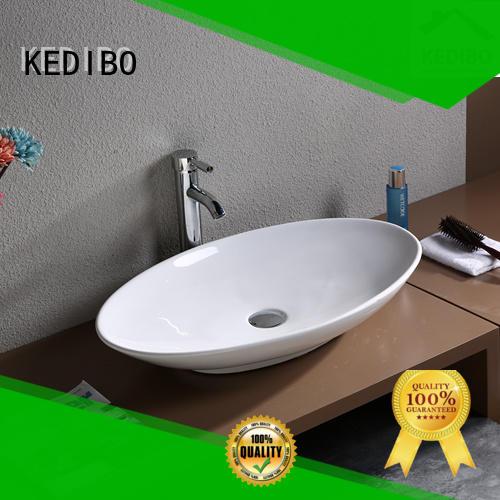 finish approved sink KEDIBO Brand art basin supplier