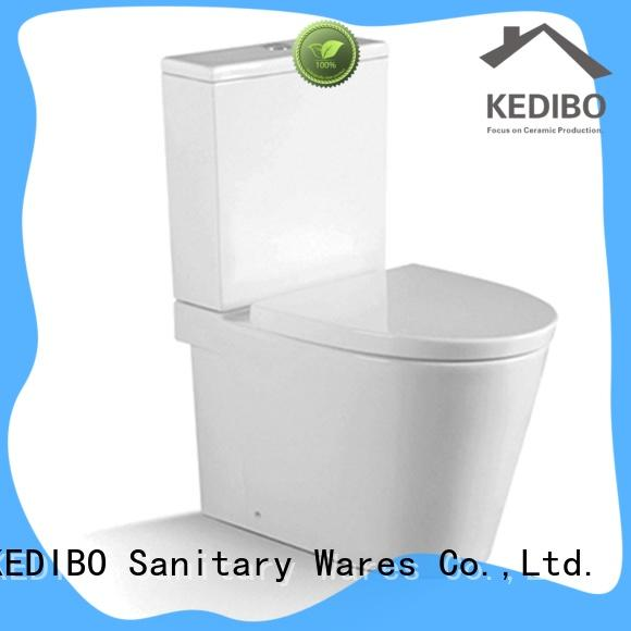 economical price 1 piece toilet suite factory price for bank