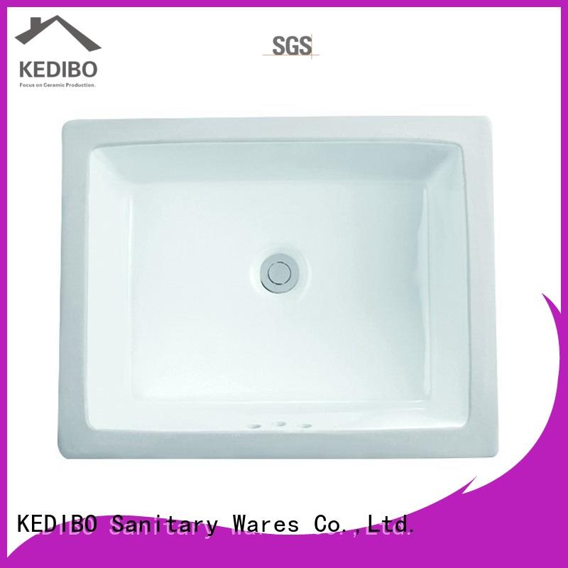 KEDIBO new-arrival under counter basin for wholesale for apartment