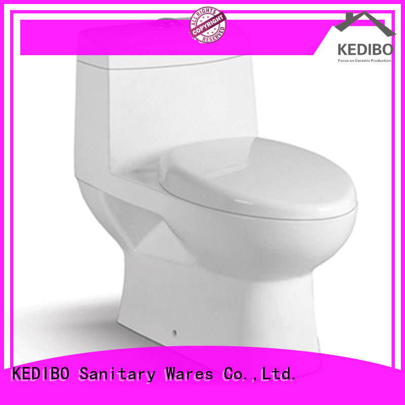 KEDIBO hot-sale wash down toilet model for shopping mall