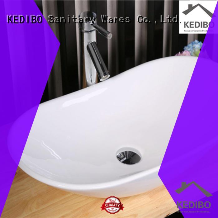 KEDIBO fashion bathroom sink countertop great deal for hotel