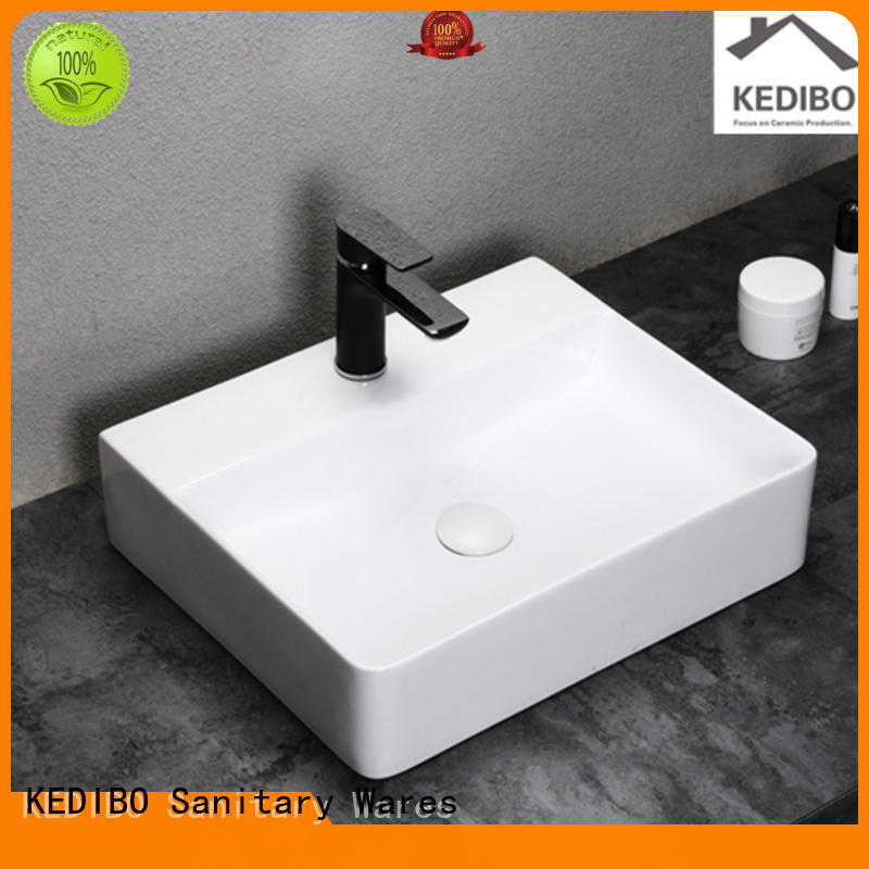 Quality KEDIBO Brand toilet wash basin design gold