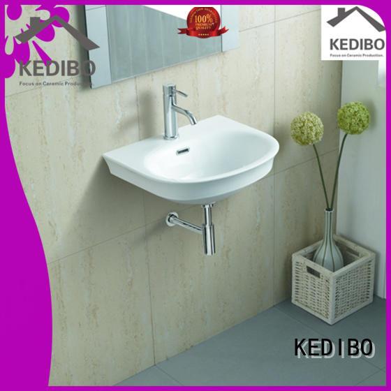 resistant different wall hung wash basin elegant KEDIBO company