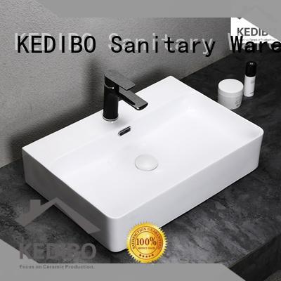 KEDIBO Brand triangle art basin porcelain factory