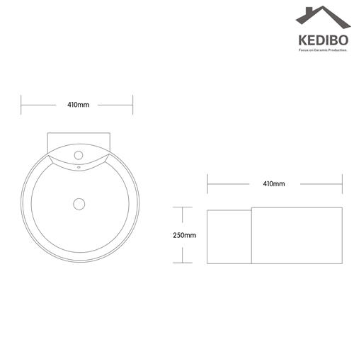 KEDIBO different types art basin exporter for toilet-1