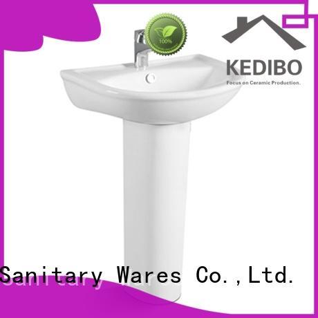 novel pedestal basin washroom export for hotel