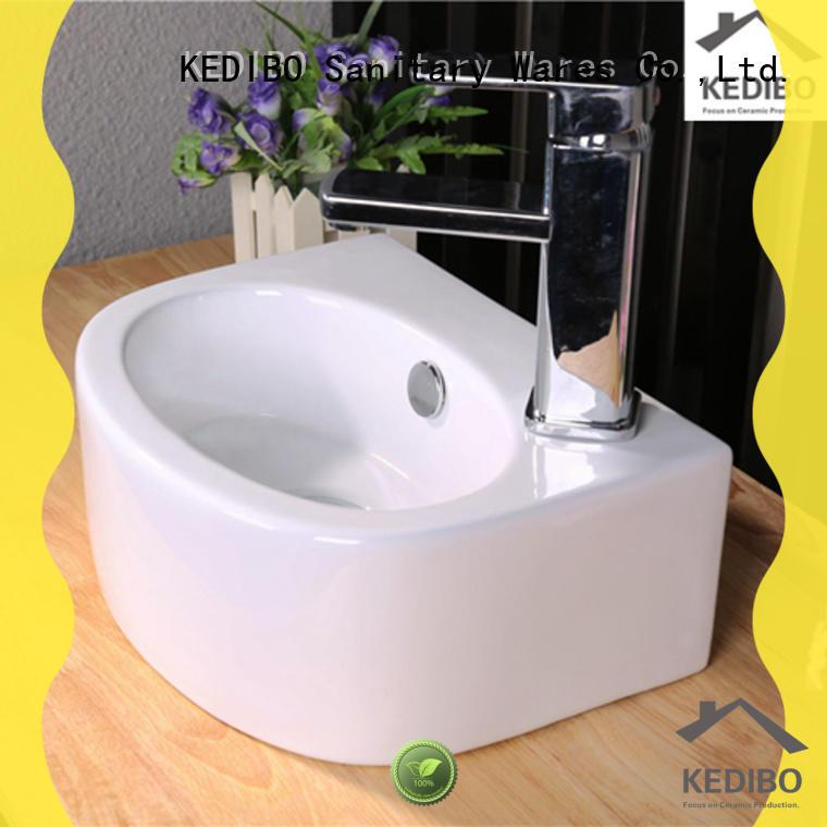 KEDIBO custom decorative bathroom sinks OEM ODM for hotel