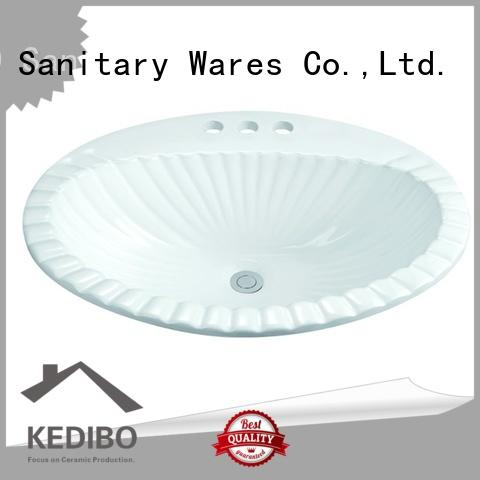 580x460 Three Tap Holes Bathroom Classical Washing Bowl 1-2302