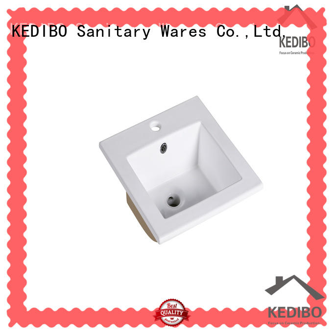 KEDIBO model wash basin with cabinet supplier for residential building