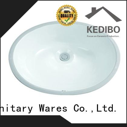 KEDIBO basin under counter basin for wholesale for hotel