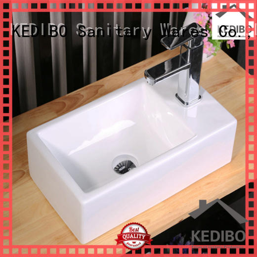 KEDIBO classical design wall hung basin bulk production for public washroom