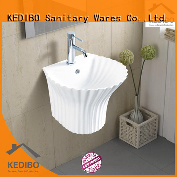 different style wall hung basin shell grab now for restaurant