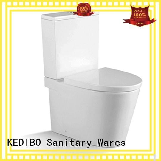 KEDIBO Brand fashionable wall hung two-piece toilet elegant