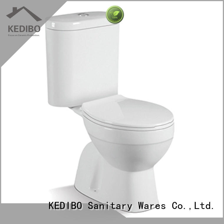 price 1 piece toilet producer for residential building KEDIBO