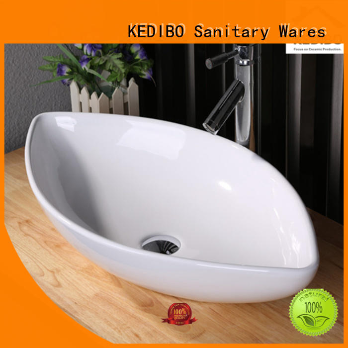 Custom counter gold art basin KEDIBO certificate