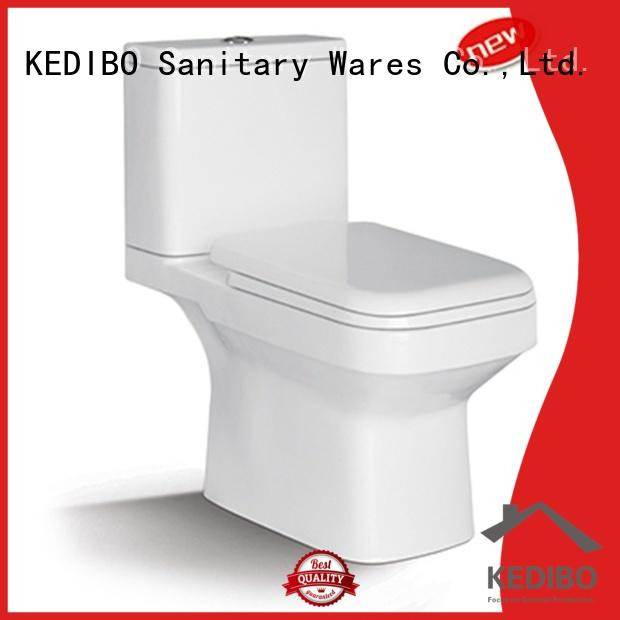 fashionable 1 piece toilet square producer for shopping mall