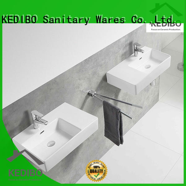 easy-to-install wall mounted basin size export for official bathroom