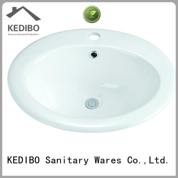KEDIBO round under counter basin vendor for hotel