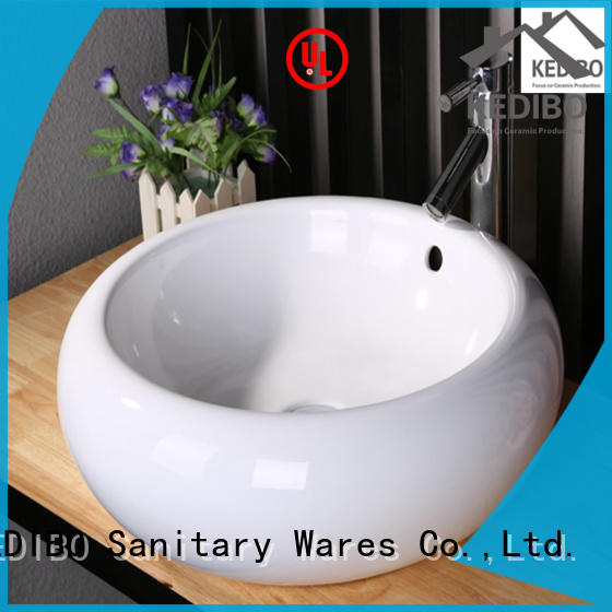 KEDIBO different types table top basin order now for toilet