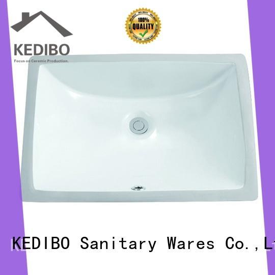 KEDIBO exquisite under counter basin manufacturer for super market