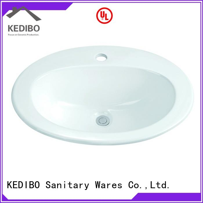 KEDIBO above under counter basin at discount for school