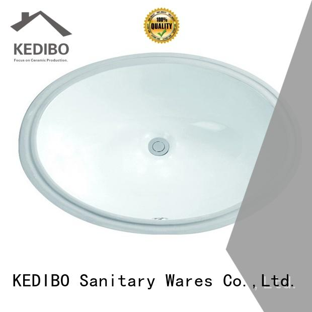 KEDIBO useful oval undermount bathroom sink application for coffee bar
