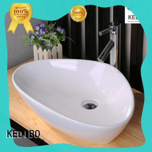 sanitary ware wash basin top for residential building KEDIBO