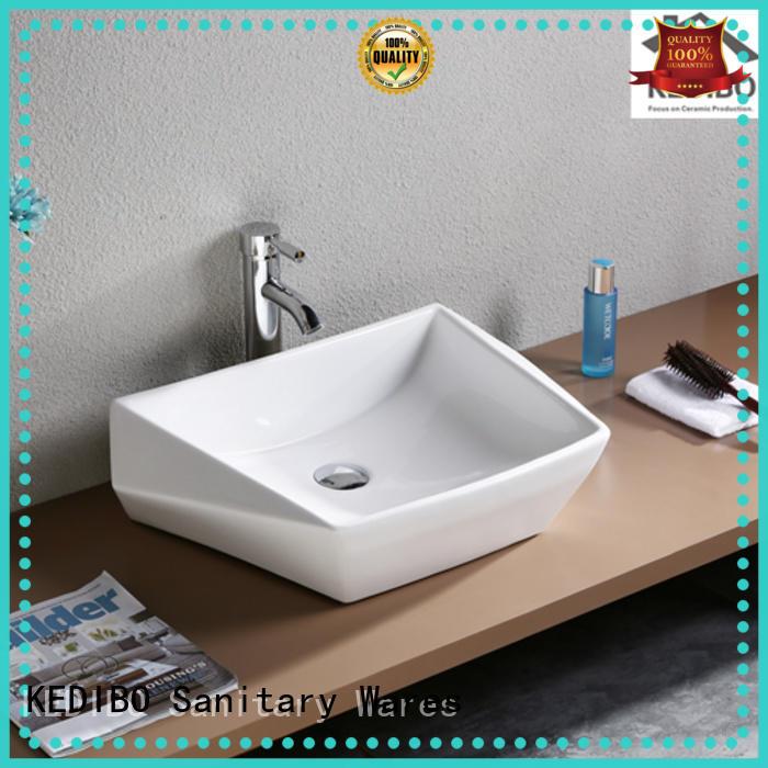 oval tap hole art basin KEDIBO