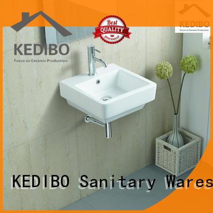 classical design ceramic wall hung basin outdoor overseas market for bathroom