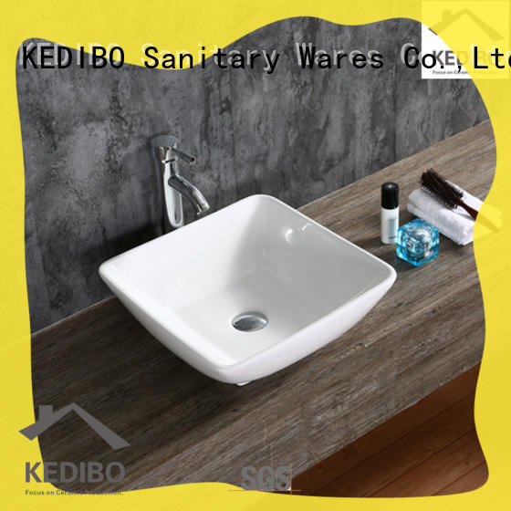 KEDIBO various design bathroom sink countertop exporter for super market