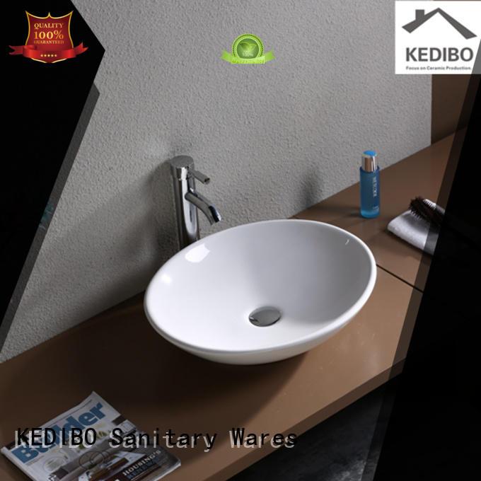 KEDIBO Brand oval toilet wash basin design porcelain supplier