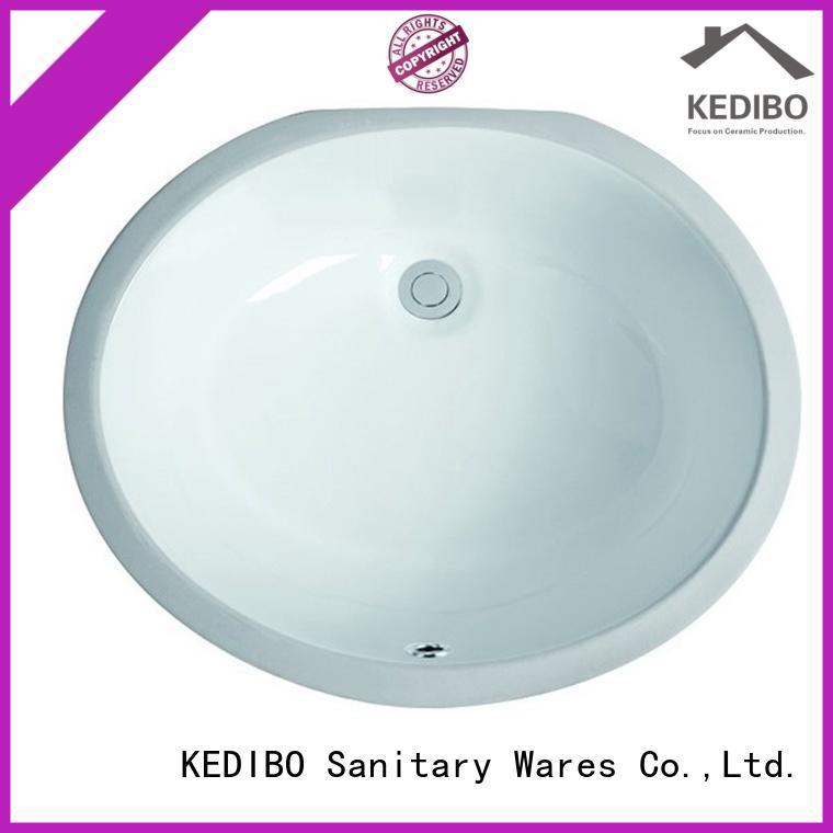 KEDIBO vanity under counter basin manufacturer for apartment