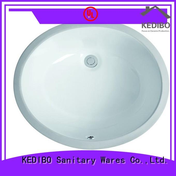 KEDIBO cloakroom under counter basin factory price for bank