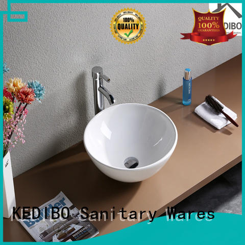Quality KEDIBO Brand toilet wash basin design without